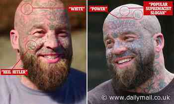 Britain's Top Woodworker is AXED by Sky after viewers spotted 'Nazi' tattoos on contestant's face