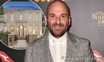 George Calombaris sells his $4.75 million Melbourne mansion as he continues to pay debt