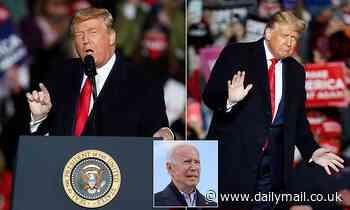 'Politics is BORING without me': Trump says it's him or 'Sleepy Joe' Biden at Pennsylvania rally