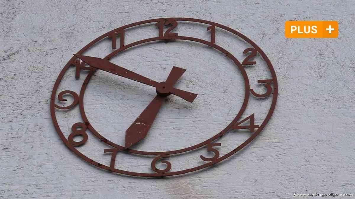 Sanierung nötig: Bei der Altenstadter Kirchturmuhr drängt die Zeit - Augsburger Allgemeine