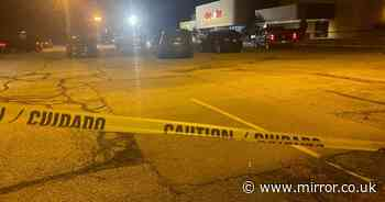 Three-year-old child rushed to hospital after being injured in drive-by shooting