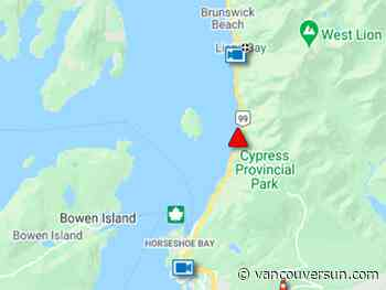 Sea to Sky Highway closed in both directions