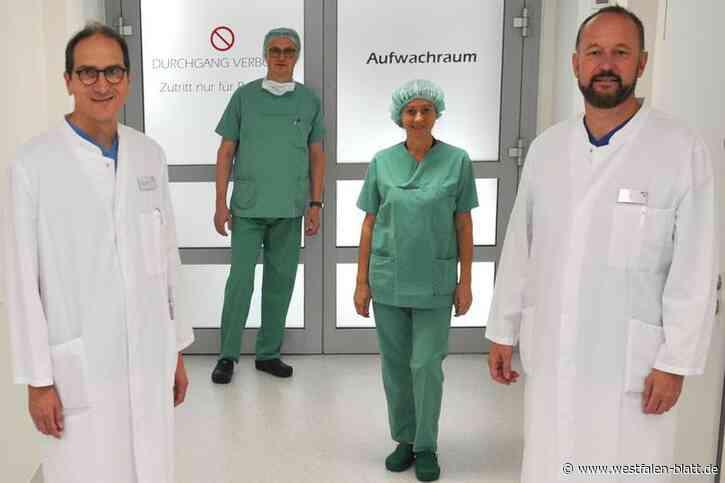 Paderborn: Weniger Blutverlust bei der OP