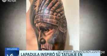 Gianluca Lapadula inspiró su tatuaje en los Pieles rojas de Paramonga - América Televisión