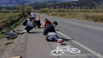 La primera bicisenda de San Martín de los Andes ya está lista - Minuto Neuquen