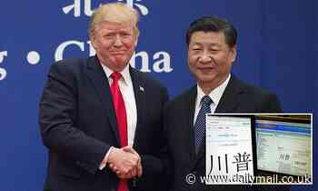 Trump paid more than $188,000 in taxes to China while paying next to nothing to the US treasury