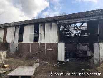 Entrepôt incendié à Jaulzy et Attichy: une liste inquiétante de produits - courrier-picard.fr