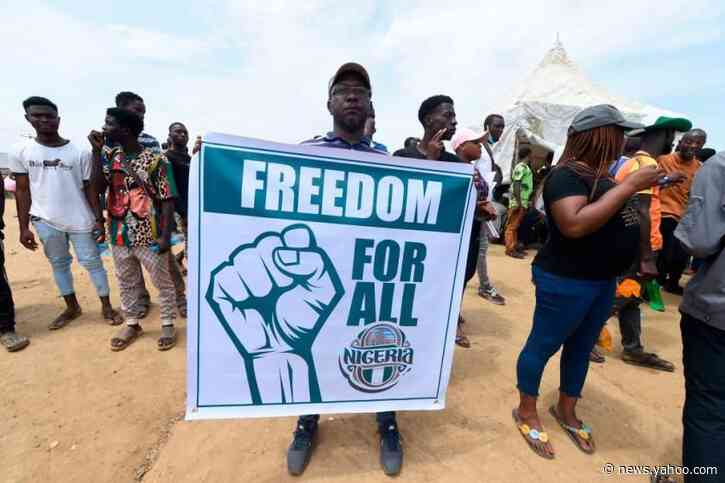 Witnesses say soldiers opened fire against anti-police brutality protesters in Nigeria