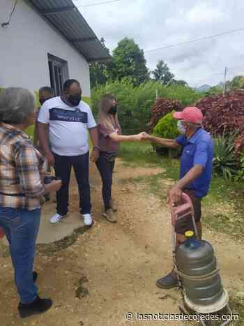 Candidatos de Plataforma Venezuela Unida recorrieron comunidades de Tinaquillo - Las Noticias de Cojedes