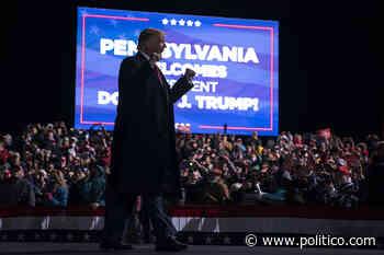 Trump, in Pennsylvania, faces an old foe: Obama