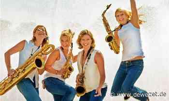 Doppelter Saxofonsound in der Domänenburg Aerzen - Dewezet