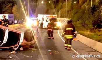 2 people hospitalized after single-vehicle collision on Sea-to-Sky Highway