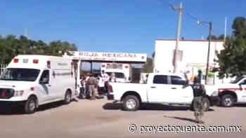 Asesinato de Policía, asalto en carreteras y afectación de la Cruz Roja en Cajeme, Caborca y Empalme - Proyecto Puente