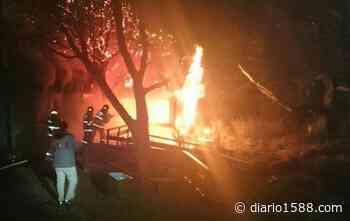 Anciano falleció tras incendiarse su vivienda en La Cruz - 1588