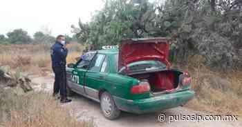 Desvalijado hallan un taxi en camino a Palma de la Cruz - Pulso Diario de San Luis