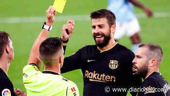 Piqué pone la cruz a un titular del Barça - Diario Gol