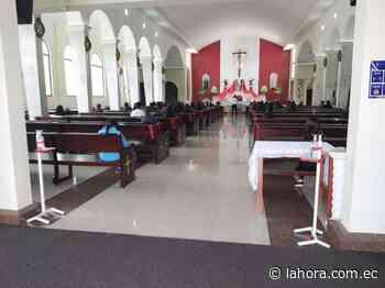 Nuevamente se realizan misas presenciales en Pelileo - La Hora (Ecuador)