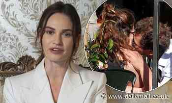 Lily James pulled out of interview with just 45 minutes notice amid Dominic West scandal