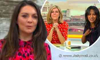 GMB's Laura Tobin tells Ranvir Singh and Kate Garraway off for talking through her weather report