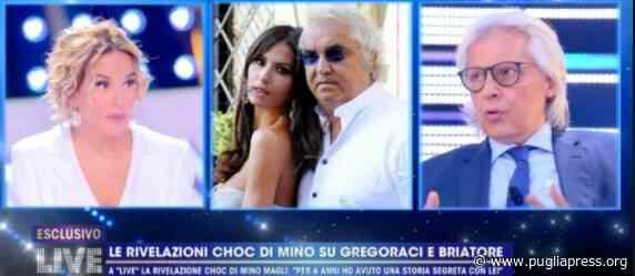Mino Magli racconta la sua verità sulla storia con Elisabetta Gregoraci - Puglia Press