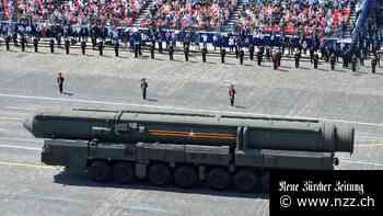 Russland und die USA nähern sich einer Einigung über Atomwaffen