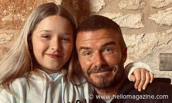David Beckham's unusual day out with Harper revealed