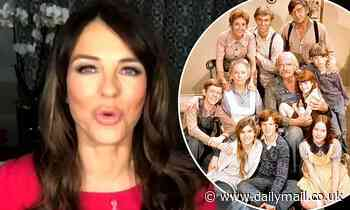 Elizabeth Hurley says lockdown was like living with The Waltons at her £6m Herefordshire mansion