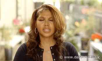 Toni Braxton rushes out of the studio as she learns of sister Tamar's shock suicide attempt