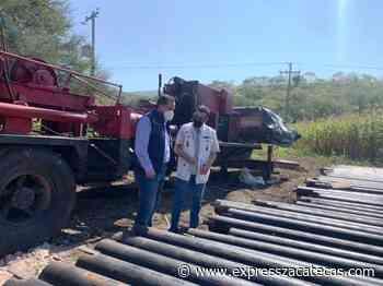 Fortalecen sistemas de abasto de agua en Jalpa y Nochistlán - Express Zacatecas