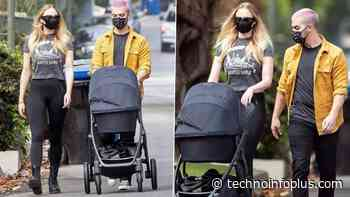 Joe Jonas and Sophie Turner Spotted With Daughter Willa Jonas Out On A Stroll! - Techno Info Plus