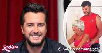 Watch Luke Bryan Sneak up on His Mother LeClaire on Her 73rd Birthday - AmoMama