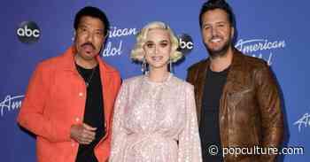 Watch: Katy Perry Pelts Luke Bryan With 'Roll Tide' Chants on Set of 'American Idol' - PopCulture.com