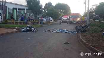 Vítimas fatais de acidente no Universitário são Leandro Monteiro e Diones da Rocha Rozzatti - CGN