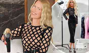 Claudia Schiffer reveals she has her own BARBIE as toy company creates dolls for her 50th birthday