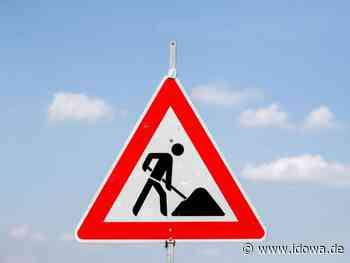 Baustelle in Landshut: Sperrung der Hagrainer Straße wegen Leitungsarbeiten - idowa