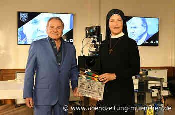 Landshut: Um Himmels Willen-Dreh in der Verlagsdruckerei - Abendzeitung