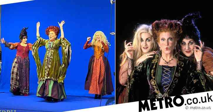 Bette Midler says she slipped back into Hocus Pocus character with spellbinding ease
