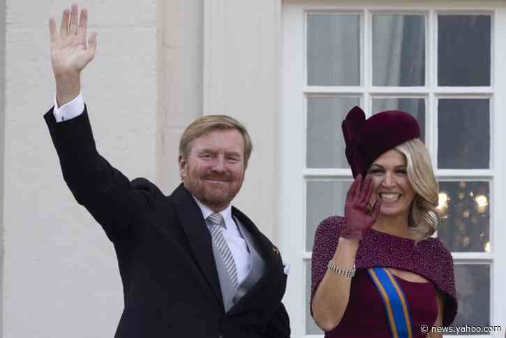 Dutch king expresses regret at Greek family vacation