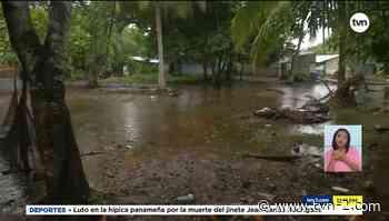 Noticias Evalúan traslado de residentes de Kosovo en Puerto Caimito afectados por mareas altas - TVN Panamá