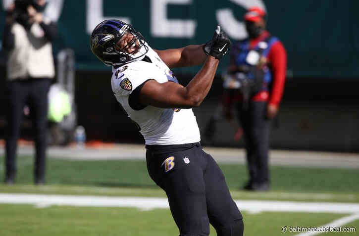 Ravens' Calais Campbell Named AFC Defensive Player Of The Week