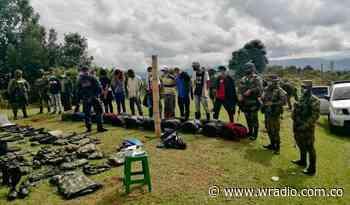 Capturan a 12 presuntos integrantes de la Nueva Marquetalia en Cauca - W Radio