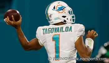 Dolphins announce Tua Tagovailoa as the new starter