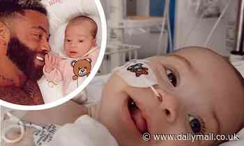 Ashley Cain's baby daughter faces surgery and chemotherapy treatment