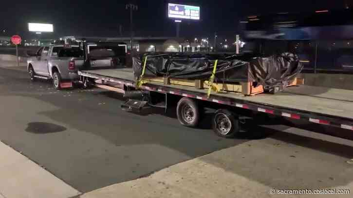 Pickup Towing Trailer Leads High-Speed Chase From El Dorado Hills To Oakland
