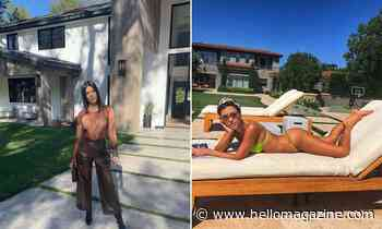 Kourtney Kardashian stuns fans with look inside private garden
