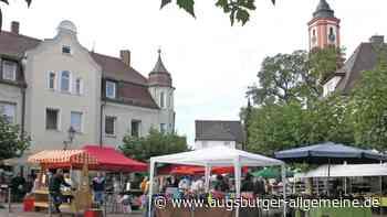 Krumbacher Restlesmarkt muss abgesagt werden - Augsburger Allgemeine