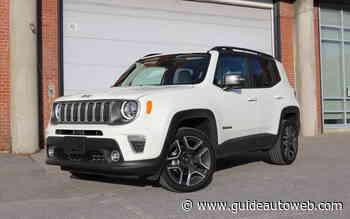 Jeep Renegade 2020: le compte n'y est pas