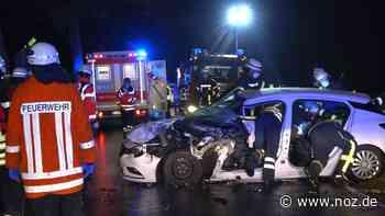 Schwerer Unfall: Auto und Trecker stoßen in Melle zusammen - NOZ