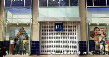 Gap could shut UK stores permanently amid massive Bullring shop sale - Birmingham Live