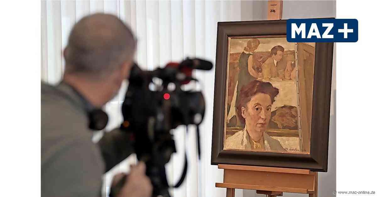 Wichtiges Spätwerk von Lotte Laserstein nun im Potsdam-Museum - Märkische Allgemeine Zeitung